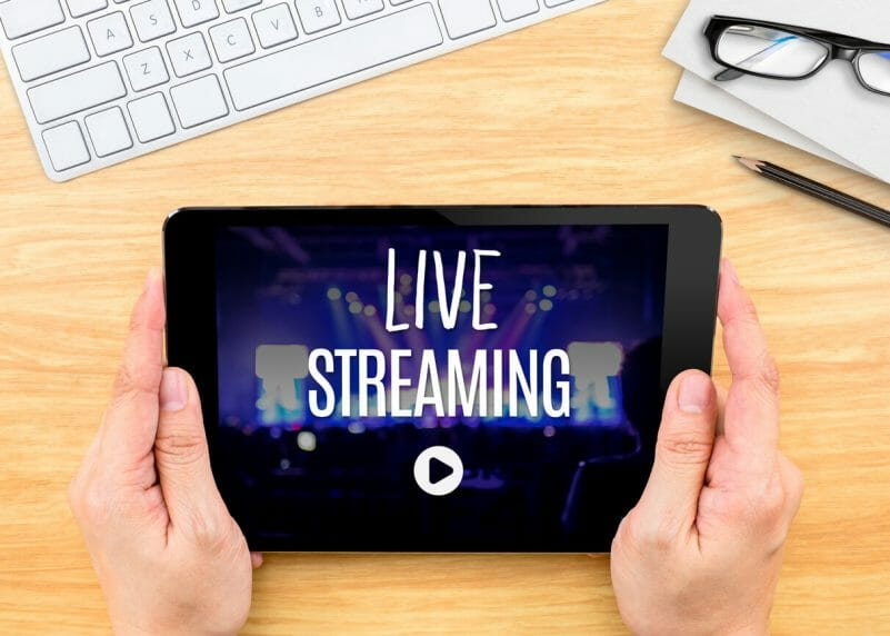 secure live streaming